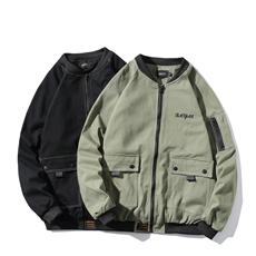19春季新款原创工装大码休闲男士棒球服夹克外套JK771-控138-P105