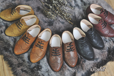 taobao agent BJD baby shoes 3 points 4 points 17 male POPO68 Oxford suit leather shoes volks/luts/mdd RSH005