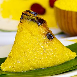 特產小米粽北方糯米紅棗甜粽