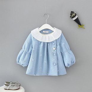 idea2018新款女宝宝甜美可爱上衣