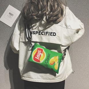 【网红小包】韩版个性时尚少女帆布包