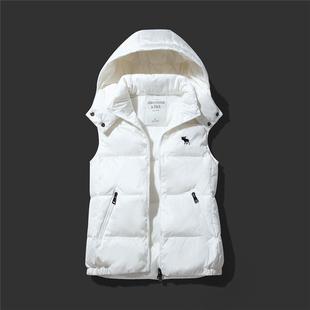 Зимой AF олененок женщины под жилет женский закрытый вниз жилет жилет куртка краткое модель женщина пальто