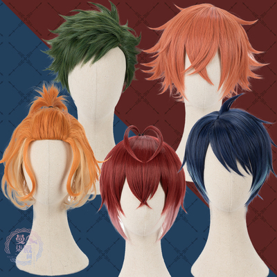 taobao agent Twisted Wonderland with Riddle Ace Trey Cater Deuce Alice cos wig cosplay