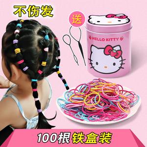 Trẻ em đầu dây không làm tổn thương tóc ban nhạc Hàn Quốc phiên bản của phim hoạt hình đóng hộp tóc dây cô gái tie tóc ban nhạc cao su ban nhạc bé headdress