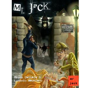 Board game Ripper Jack trong New York thẻ phiên bản bỏ túi Jack Ông Jack bộ sưu tập lớn bảng trò chơi cờ vua