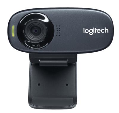 罗技C310电脑摄像头上网课实名认证电信罗技C270\/C270i\/C525麦克