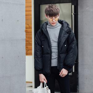 韩国面包服宽松男士棉衣冬季男装学生棉服青少年加厚外套棉袄1602