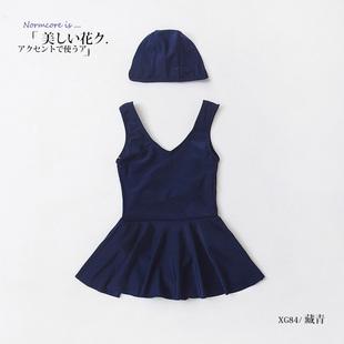 【爱沫汐】儿童连体泳衣2件套