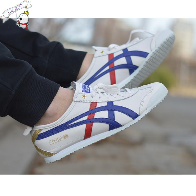 cheap for discount 83d04 04960 鬼冢虎Onitsuka Tiger MEXICO 66燙金D507L-0152男女休閒情侶鞋
