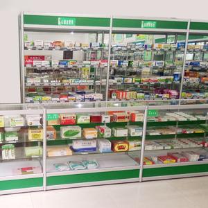 Y học and tủ thuốc trưng bày dược phẩm y học trưng bày kệ dược phẩm y tế trưng bày