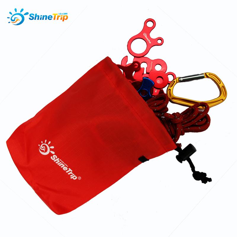 Ngoài trời di carabiner gió dây nịt phụ kiện nhỏ túi phân loại túi cắm trại đa chức năng lưu trữ túi đồ lặt vặt túi treo túi