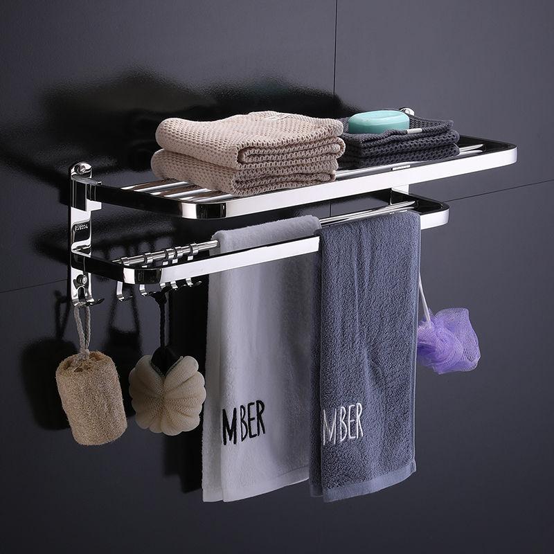 304不锈钢毛巾架毛巾杆浴室浴巾架毛巾架