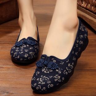 中年女士鞋大码女鞋春款妈妈鞋老北京布鞋