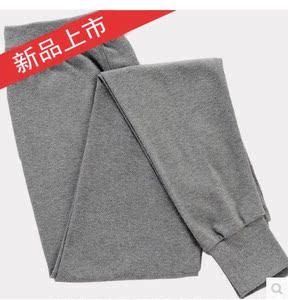 Nam cao eo cotton mảnh duy nhất mùa thu quần trung niên phần mỏng quần ấm trung niên cotton lỏng quần kích thước lớn quần