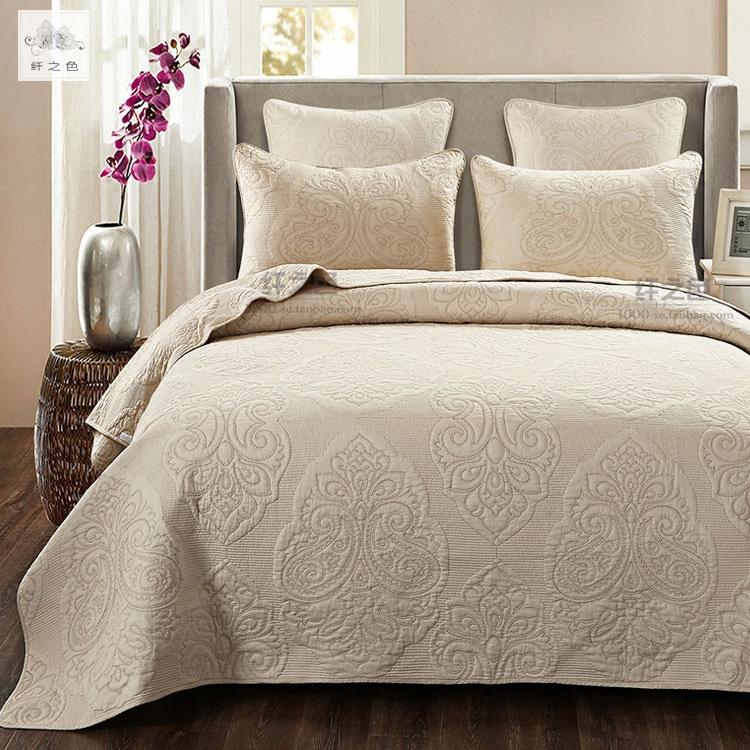 Mỹ giường bông bao gồm màu quilting được tăng lên bởi ba bộ bông quilting bedspread điều hòa không khí là màu sắc của giường