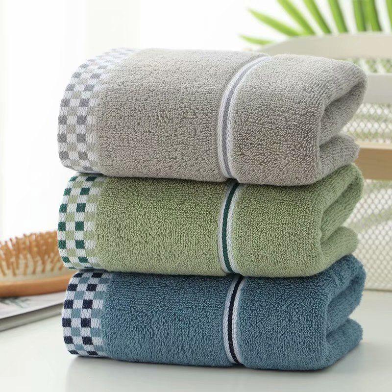 家用1-3条不掉毛纯棉毛巾