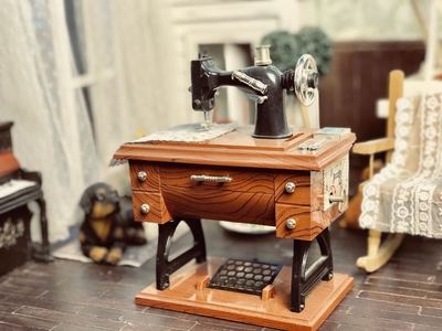 taobao agent Bjd/dd/dd6 points yosd4 points small cloth blythe props sewing machine photography furniture