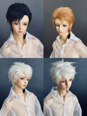 taobao agent Uncle Luo's bjd hairy wig 3 points uncle small head circumference non-elastic hair net four tops free shipping thin short style