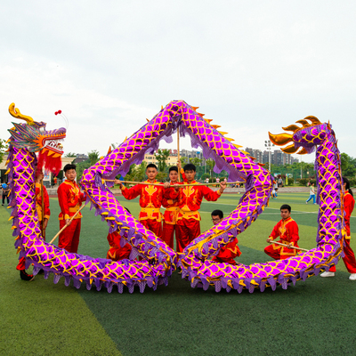 business activity with 9 section 1 bead props props dragon lantern lion dragon dance lion dance gold dragon lighting dragon stage way