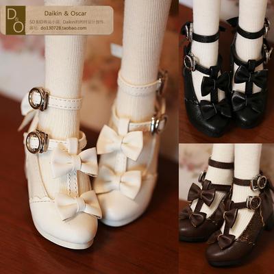 taobao agent DO spot bjd doll shoes dd mdd sdc sdm butterfly flash diamond retro princess shoes sd doll 3 points 4 points