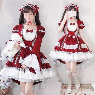 taobao agent Original children's clothing female treasure Lolita Lolita children's full skirt girls performance dress Lolita princess dress