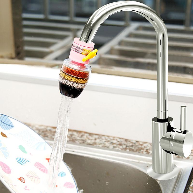万能接头过滤器水龙头家用自来⌒水管净化器厨房通用防溅净水滤水16