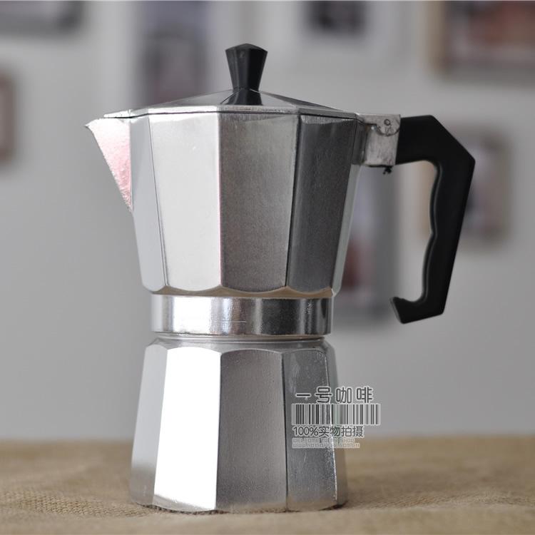 Mocha nồi Ý Ý tập trung hộ gia đình máy pha cà phê nhỏ giọt loại tay gia dụng nồi cà phê đồ dùng cà phê
