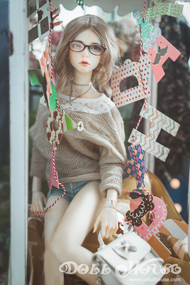 taobao agent 【171231】Not an inflatable doll, don't ask MD! 1/3BJD 3 points baby girl clothes full set + bag