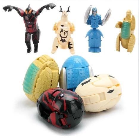 Trẻ em của biến dạng đồ chơi Otto trứng robot biến dạng búp bê Altman của trứng bé câu đố 1-3-6