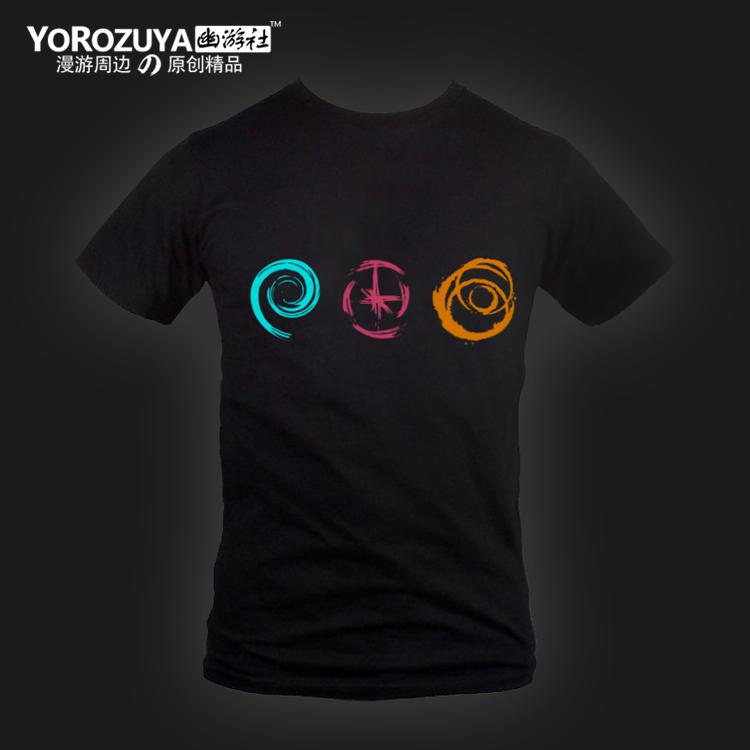 Yuyao cơ quan DOTA2 tháp pháo trò chơi TI8 Invitational vật lý xung quanh Carl ba bóng logo T-Shirt quần áo