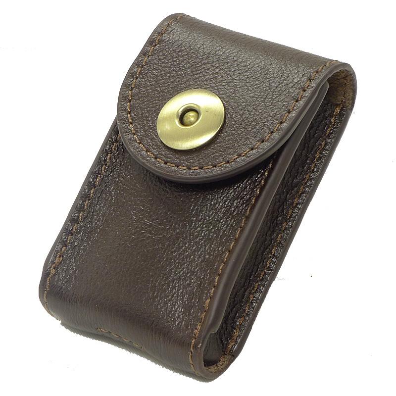 Bronck treo vành đai thắt lưng vành đai thắt lưng túi eo túi chìa khóa xe da của nam giới da bò 1652C