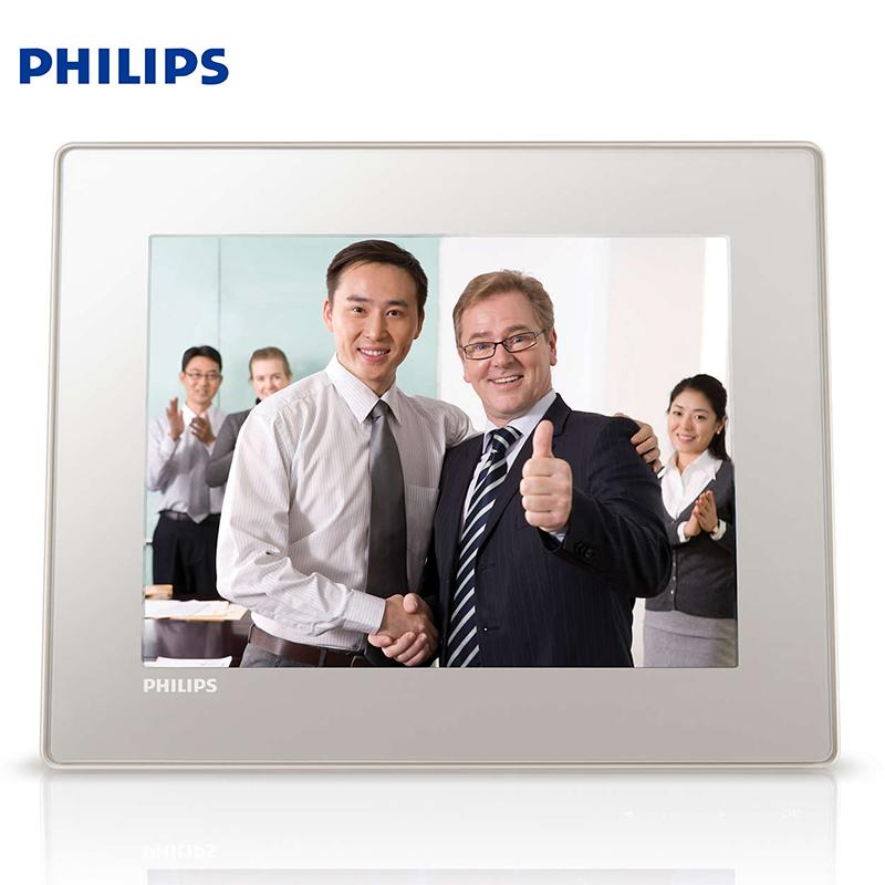 Philips SPF4528 khung ảnh kỹ thuật số 8 inch album điện tử âm nhạc HD phát lại album thân thiện với môi trường thời trang mỏng