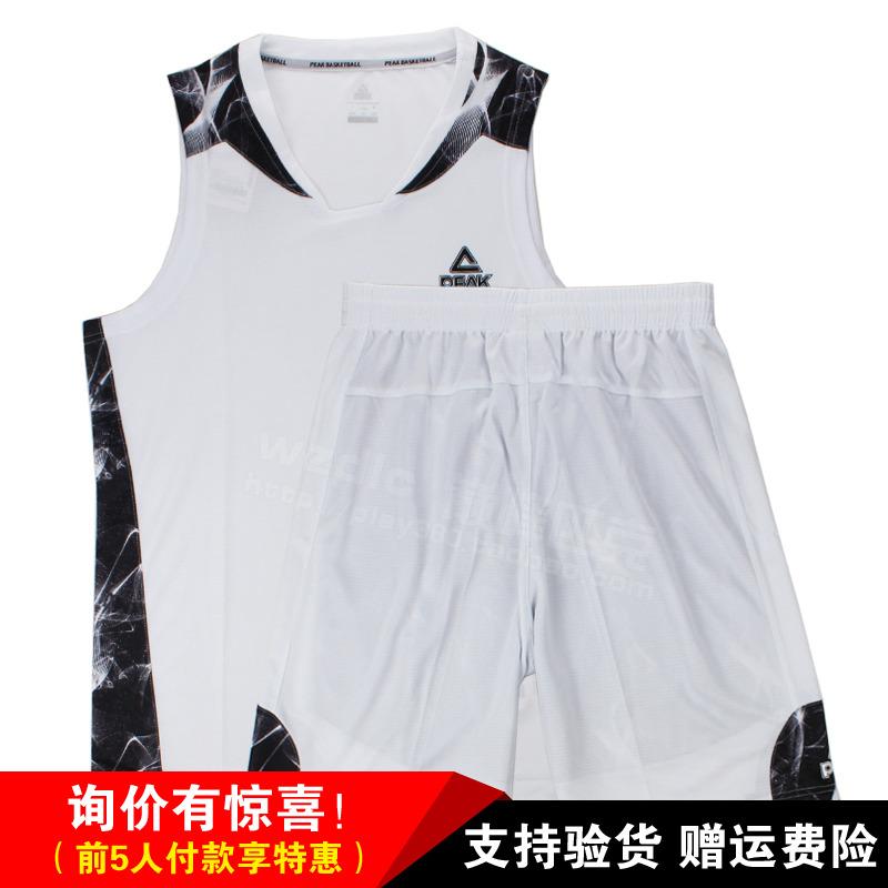 Đỉnh 2018 đồng phục bóng rổ nam thoáng khí wicking đào tạo đồng phục bóng rổ phù hợp với thể thao cạnh tranh có thể in số F782071