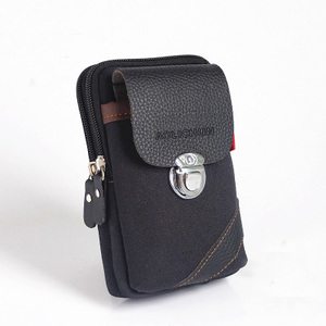Túi điện thoại di động của nam giới dọc đa chức năng giải trí ngoài trời túi mini 5.5 inch túi nhỏ mặc vành đai túi chéo