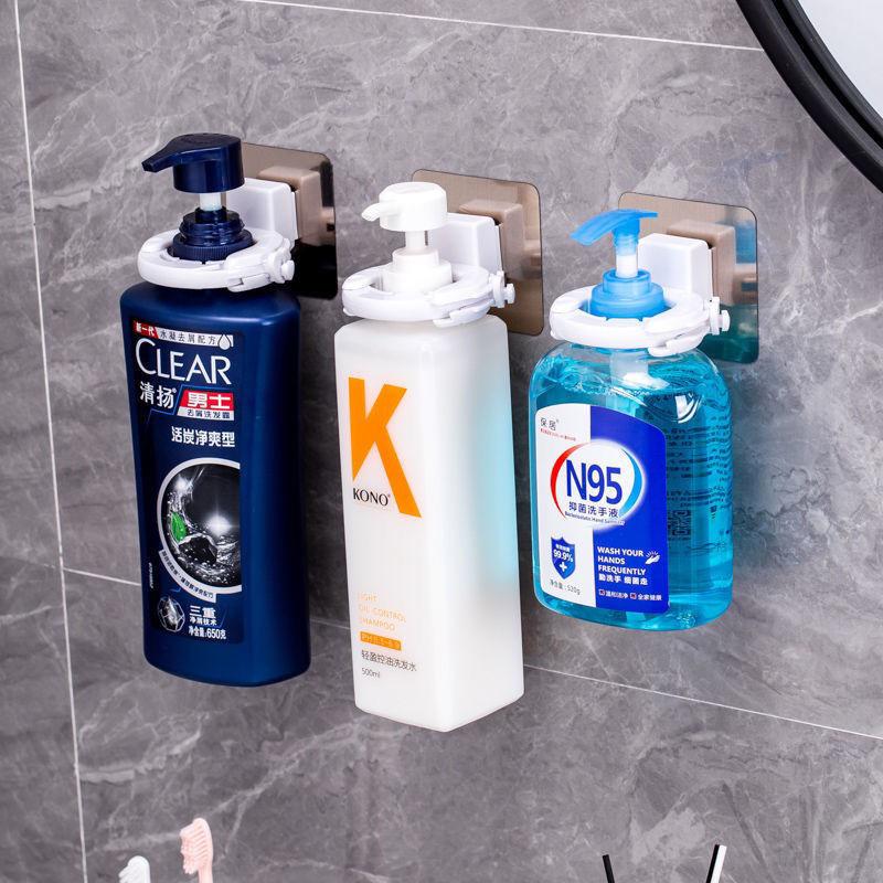 卫生间免打孔沐浴露洗发水挂架置物架浴室墙