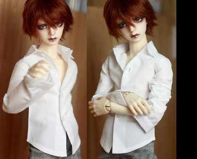 taobao agent 4/3 points/17/Uncle BJD.SD for baby classic style universal white shirt~special item~