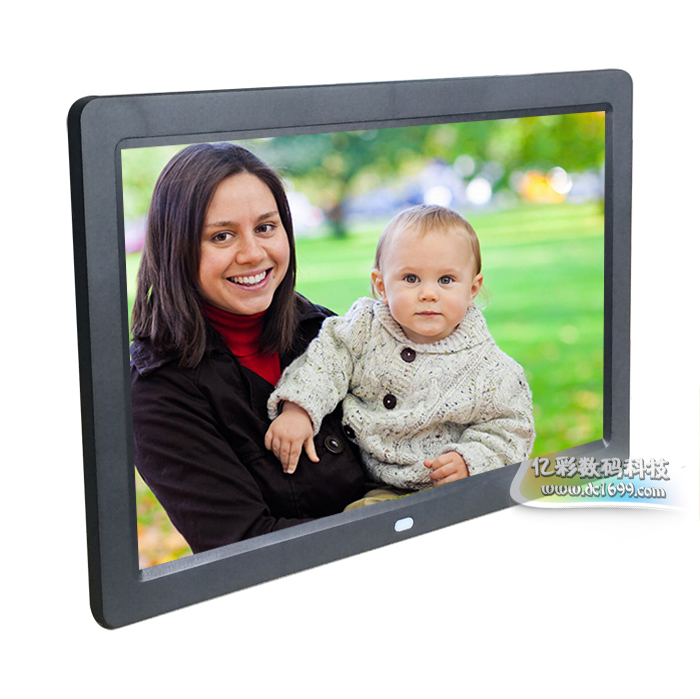12 дюймовый цифровой фоторамка тонкий hd сын альбомы LED поддерживать 1080P hd фильмы реклама видео