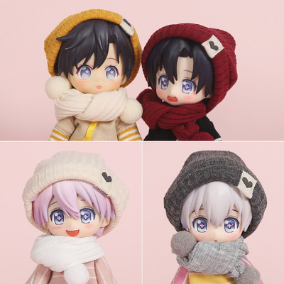 taobao agent ob11 baby clothes hat scarf molly doll clothes 12 points 8 points BJD doll GSC clay head body