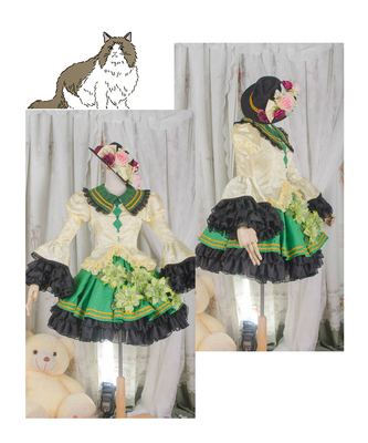 taobao agent 【March 8th Alliance】Touhou project Gu Ming Di Lian cos cosplay fold hell cos