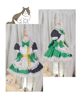 taobao agent 【March 8th Alliance】South bird maid costume cosplay lovelive cos gorgeous version