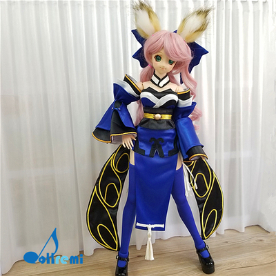 taobao agent [Dollremi@HK]COS FATE Tamamo front/fox ears and tail/kimono/animal ears