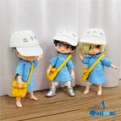taobao agent [Dollremi@HK]OB11 COS working cell/platelet/ob11/baby clothes/baby bag/Nendoroid