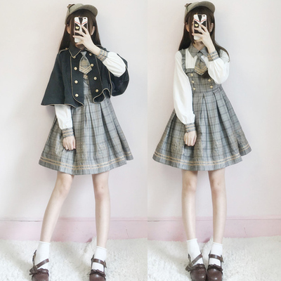 taobao agent Spring Japanese Lolita daily dress long-sleeved dress female student sweet princess skirt soft girl suit skirt