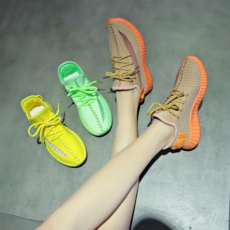 透气椰子鞋女2019夏季新款韩版百搭休闲鞋女学生运动鞋女ins跑步