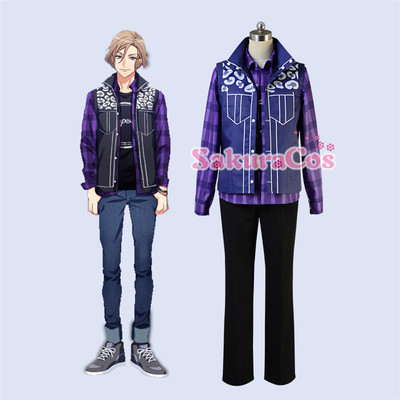 taobao agent 【Spot goods】A3! Autumn group Settsu Wanri daily clothes cosplay costume