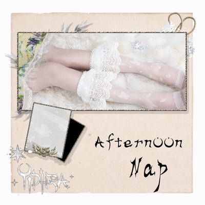 taobao agent Yidhra Dream Witch Original {afternoon nap}AfternoonNap Lolita spring and summer calf socks