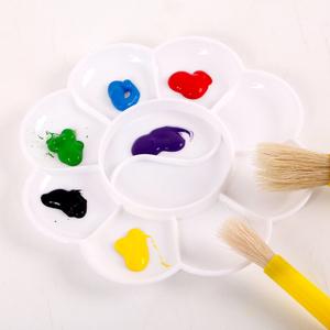 10 Mắt Mận Blossom Palette Mẫu Giáo Sơn Trẻ Em Nguồn Cung Cấp Nghệ Thuật Màu Nước Bột Acrylic Tấm Màu
