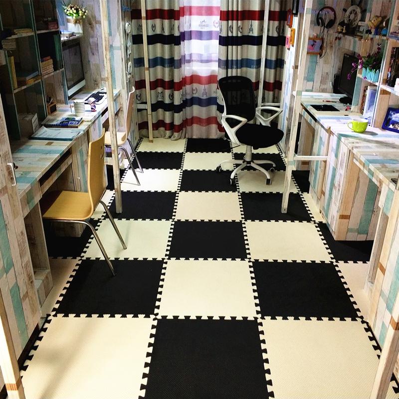 Cao đẳng ký túc xá bọt sàn mat trẻ em bò mat câu đố phòng ngủ gạch mosaic tatami 60 sàn dày