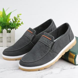 老北京布鞋男士牛筋底帆布鞋爸爸鞋