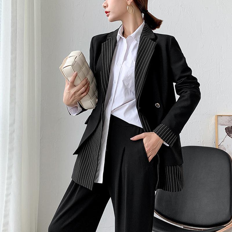 200斤大码小西装外套女春秋胖mm设计感小众韩版宽松英伦风西服潮